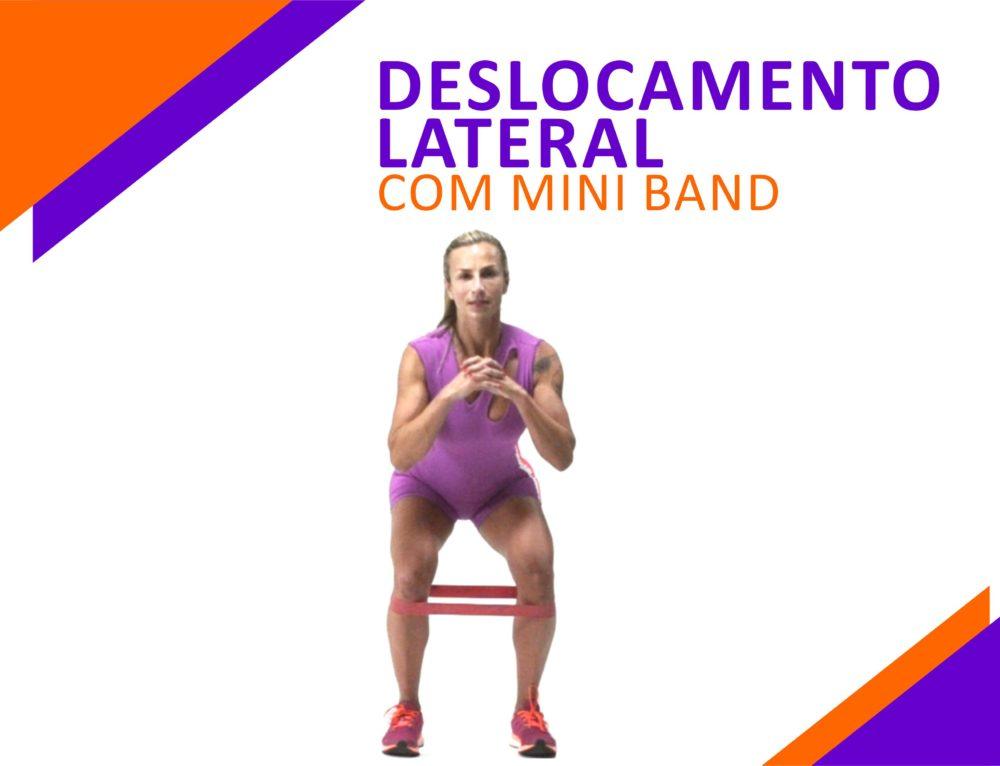 Deslocamento Lateral com Mini Band