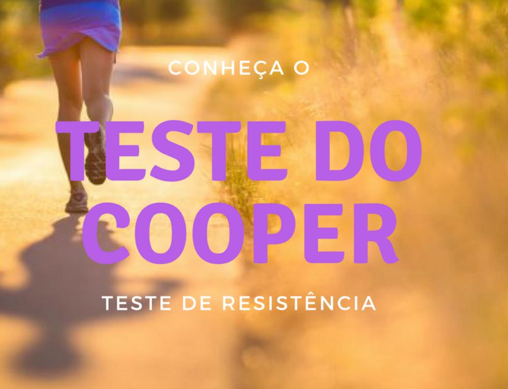 Conheça o Teste do Cooper